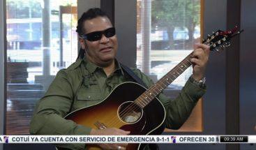 Disfruta de la talentosa voz de Amaury Gutiérrez