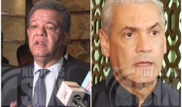 Misión OEA se reúne por separado con Gonzalo Castillo y Leonel Fernández
