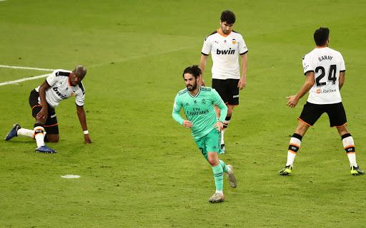 El Real Madrid vence a Valencia en semifinales