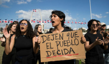 Tensión en la JCE con protestas y reclamos de los partidos de oposición