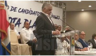 Miguel Vargas anuncia respaldo decisión JCE; dice PRD está listo para nuevos comicios
