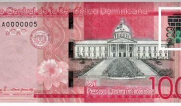 Banco Central pone en circulación nuevo billete de mil pesos