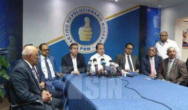 PRM advierte conflicto por licitación del Plan Social llegará a los tribunales