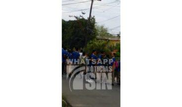 Moradores en Herrera denuncian peleas y vandalismos de estudiantes de la Escuela Emma Balaguer