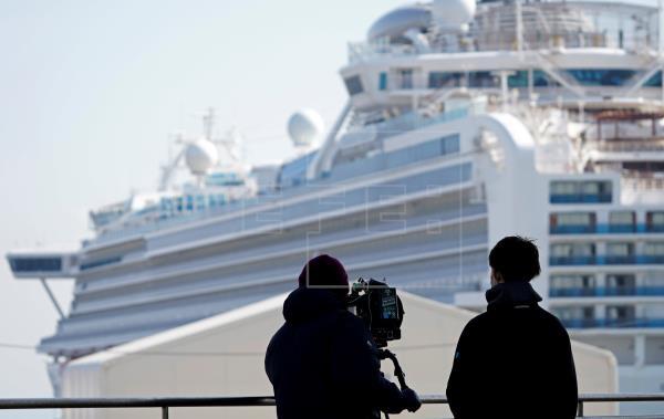 Concluye el libre desembarco de pasajeros de crucero en Japón tras cuarentena