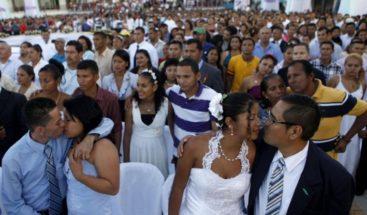 Al menos 400 parejas se casan en Nicaragua por el Día del Amor