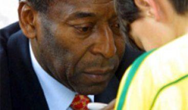 Pelé sufre