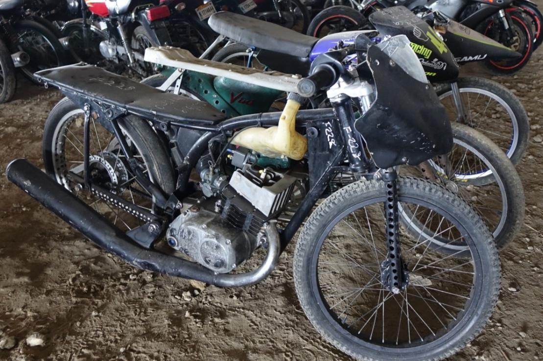 DIGESETT retiene motocicletas modificadas utilizadas en carreras clandestinas