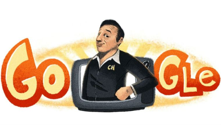 Google celebra el natalicio 91 de Chespirito con un