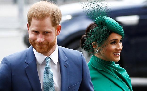 Enrique y Meghan participan en su último acto como miembros de la realeza