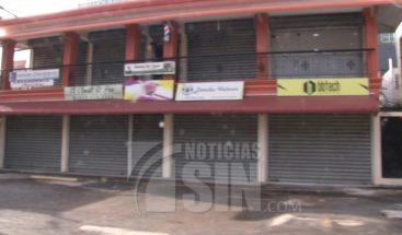 Actividades comerciales se reducen al mínimo en el Gran Santo Domingo