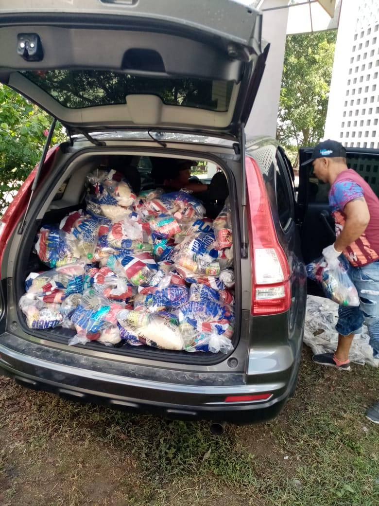 Arquidiócesis de Santo Domingo distribuye donaciones de alimento