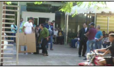 Junta Electoral en Moca afirma entrega de materiales marcha con normalidad
