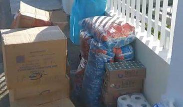 Conape dice entregó kits de protección, dinero y suplementos a hogar de ancianos en Cotuí