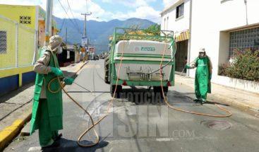 Realizan jornada de desinfección en sectores de Constanza