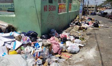 Denuncian falta de contenedores de basura en Los Mina