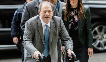 Weinstein condenado a 23 años de prisión por violación y acto sexual criminal