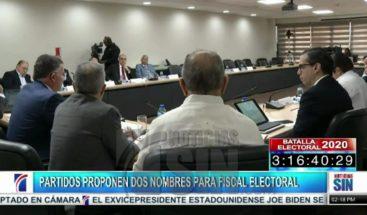 PLD y PRM acuerdan sobre dupla para elegir el fiscal electoral
