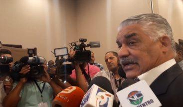 Miguel Vargas afirma informe de EE.UU. no se corresponde con la realidad de RD