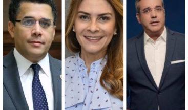 David Collado el político más popular en la capital seguido de Carolina Mejía y Luis Abinader