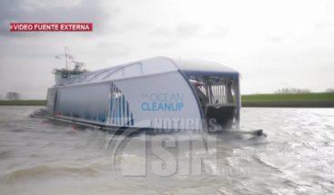 Máquina ultramoderna sacará la basura del río Ozama