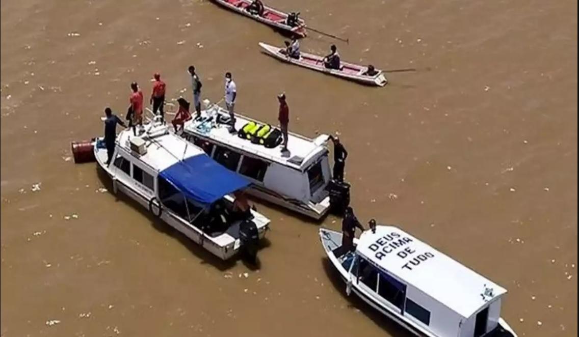 Naufragio en río amazónico de Brasil deja 18 víctimas y 12 desaparecidos
