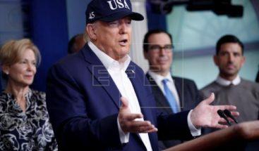 Trump se hace prueba del coronavirus y está a la espera de resultados