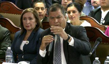 Piden 8 años de prisión para expresidente Rafael Correa por corrupción
