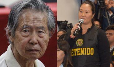 Keiko Fujimori reclama libertad para su padre por temor al coronavirus