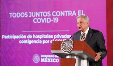 Derivarán pacientes a hospitales privados mexicanos ante pandemia de COVID-19