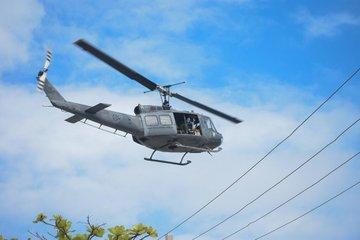 Iglesia católica bendice Santo Domingo desde helicóptero y pide eliminación del coronavirus
