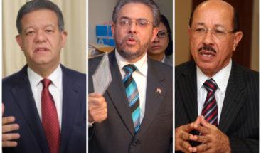 Líderes políticos apoyan posposición de elecciones; PLD reserva opinión