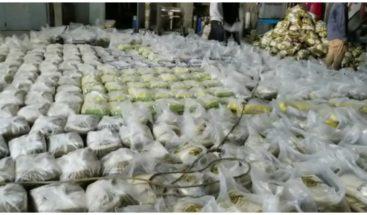 Empresario de Santiago dona cien mil libras de arroz a familias vulnerables