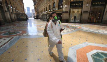 Italia suma 433 muertos por coronavirus y prosigue la tendencia a la baja
