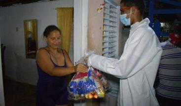 Plan Social entrega raciones alimenticias en Puerto Plata y Santiago