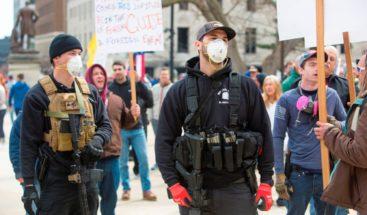 Manifestantes pro Trump reclaman libertad en Michigan ante confinamiento Laura Barros