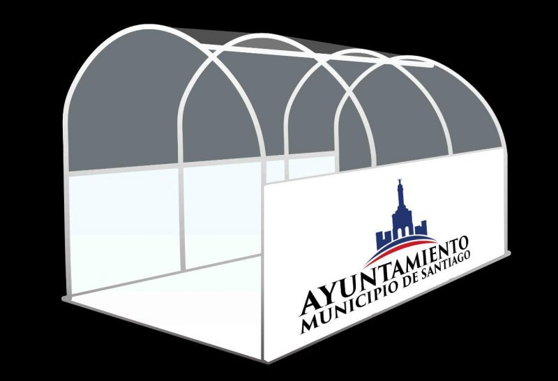 Alcaldía Santiago construirá túneles sanitizantes para combatir COVID-19