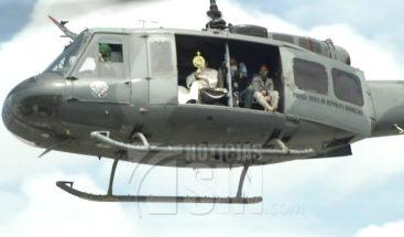 Iglesia católica bendice el país desde un helicóptero