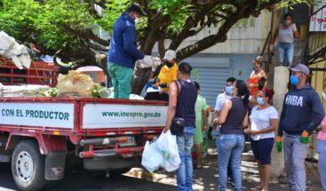 Bodegas Móviles del INESPRE llevan productos a bajo costos