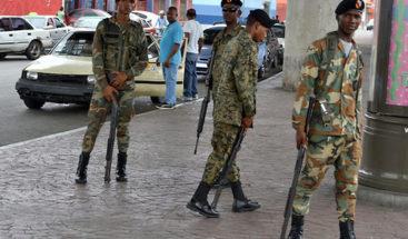 Fuerzas Armadas reforzará seguridad en bancos, supermercados y plazas
