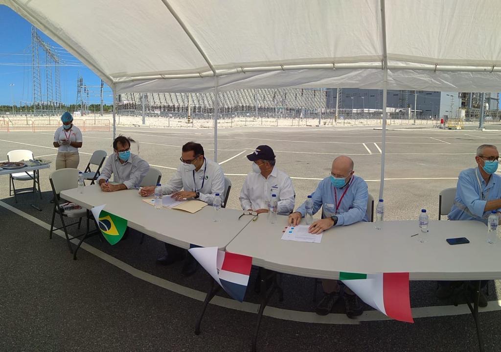 CDEEE recibe Unidad 2 de Punta Catalina