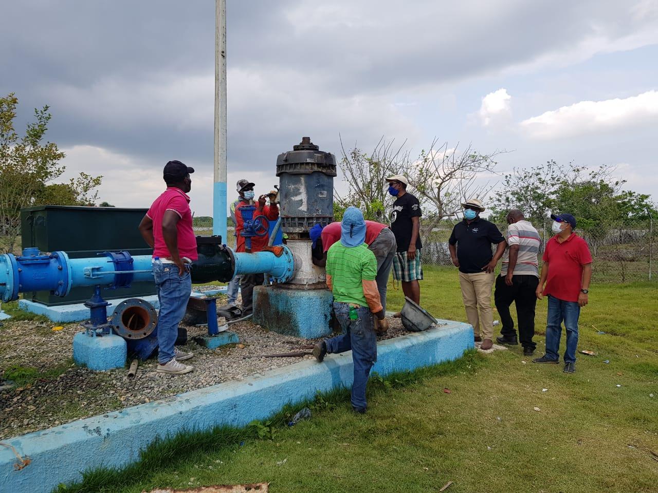 Aumentan producción de agua en acueductos de Boca Chica