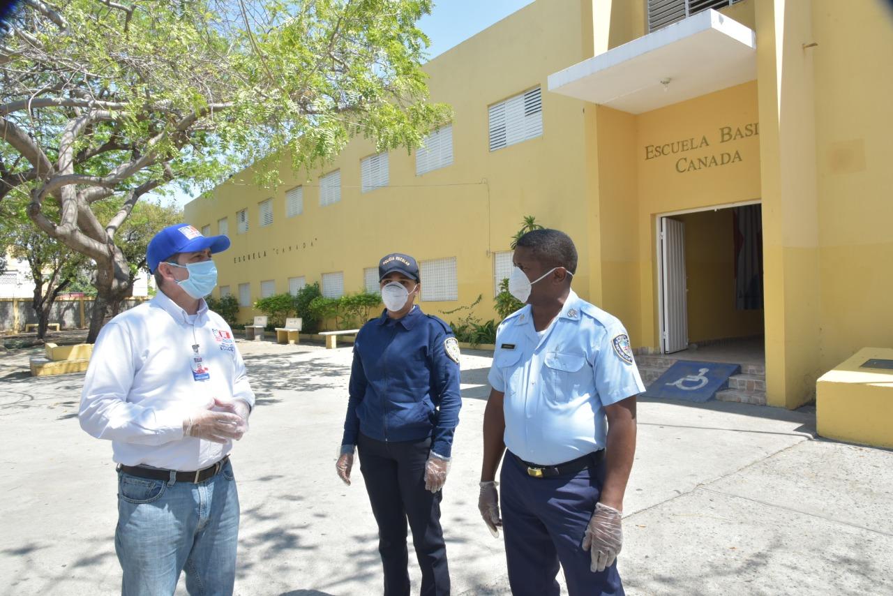 Redoblan la seguridad para preservar propiedades en centros educativos