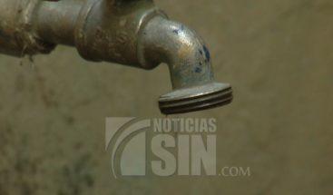 Más de 40 sectores en SDE afectados por la falta de agua