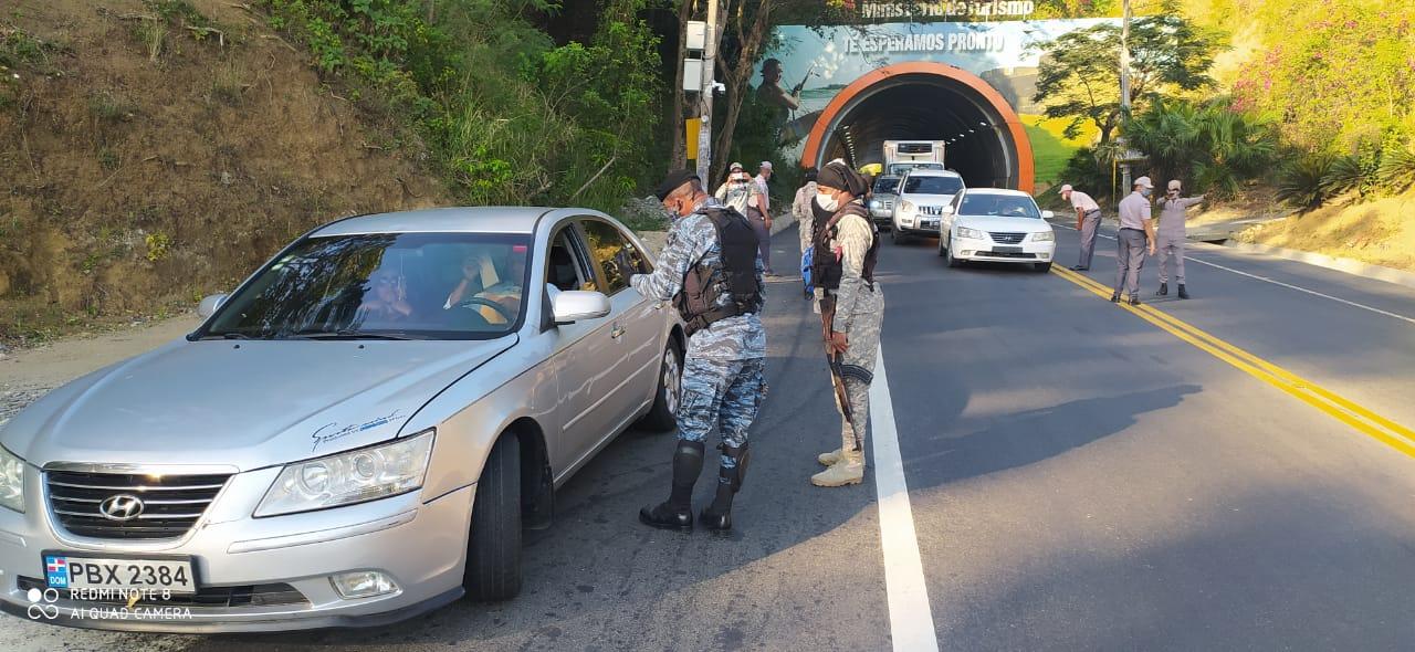 Puerto Plata amaneció militarizada este martes