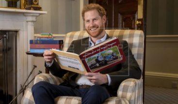 El duque de Sussex pone voz a un especial animado del tren