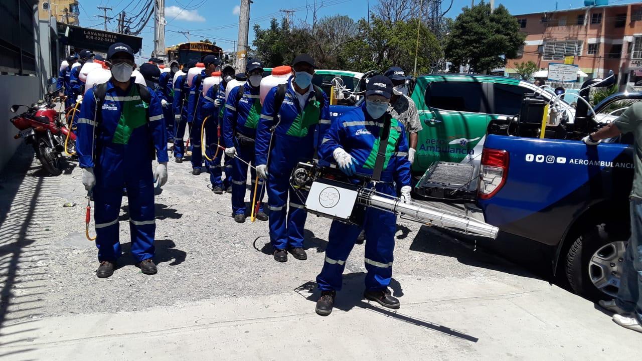 Gonzalo Castillo dispone operativo de fumigación en SDN