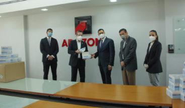 ADOZONA entrega 45 mil mascarillas a la Comisión de Alto Nivel