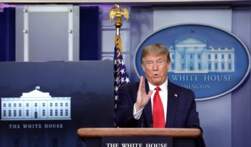 Trump ordena suspender los fondos de Estados Unidos a la OMS