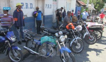 Motoconchistas de Azua piden ayuda del gobierno por falta de trabajo